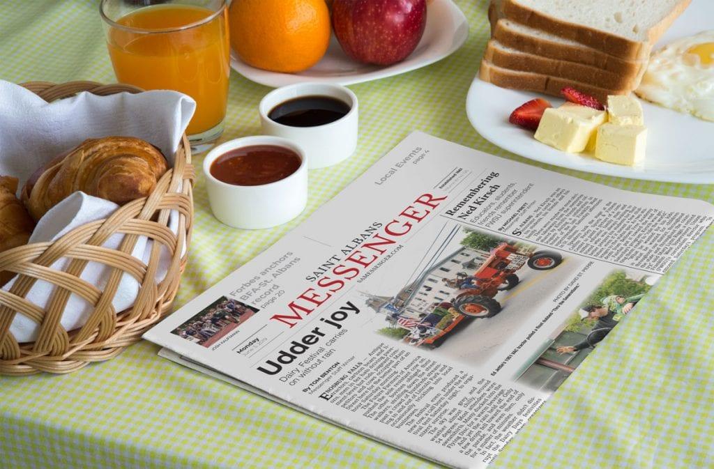 St  Albans Messenger • Messenger Marketing